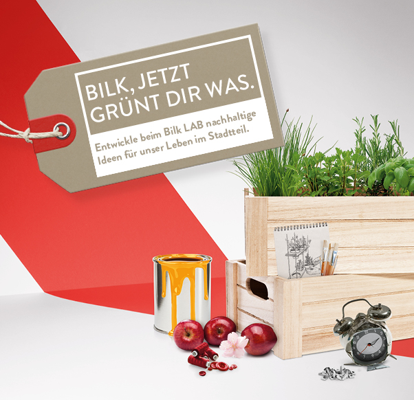 NEU: BILK LAB  - Komm zum #Upcycling Workshop